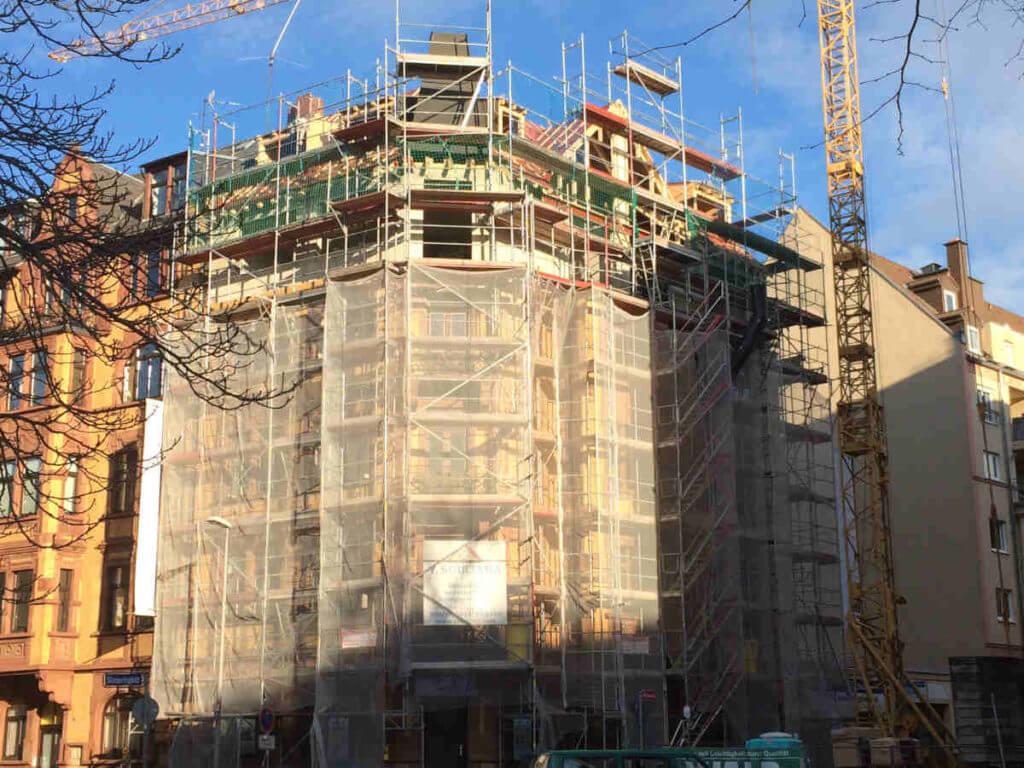 Wohnhausbau Sanierung und Aufstockung